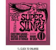 Ernie Ball 2223 Nickel Super Slinky Electric Guitar Strings 9-42