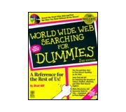 Books World Wide Web Searching for Dummies